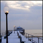 Ocean Grove Fishing Pier Snow Glow